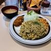 キッチンABC - 料理写真:ドライカレー定食A(カニクリームコロッケ)1