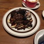 プングム TAK - * ブラウニーチョコパンケーキ