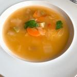 シェヴー - セットのスープ 野菜の甘さが良い