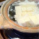 料庭 八千代 - 湯豆腐