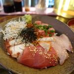 恵比寿橋酒場TUGI - 海鮮丼1,000円