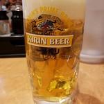 日高屋 - 生ビール2019.1.6