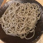 手碾き蕎麦天しん - 十割蕎麦