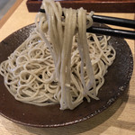 手碾き蕎麦天しん - 蕎麦リフト