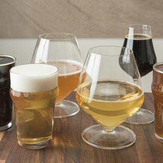全8種類の様々なクラフトビール
