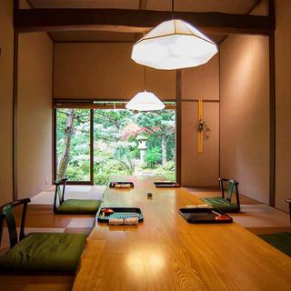 ハレの日を彩る上質な空間とお料理