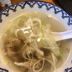 炭焼牛たん 徳茂 - テールスープ