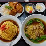 台湾料理 昇龍 - 料理写真:ラーメン定食 980円(税別)