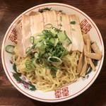 99829048 - 旨辛味噌つけ麺 ¥850 の麺