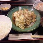 串特急 - 生姜焼き定食(650円)