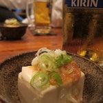 かるかん柿島 - 生ビール&お通し