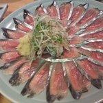 雛どり - 今が旬の秋刀魚刺し