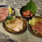 北新地たゆたゆ - ☆豚刺し四種盛り(≧▽≦)/~♡☆