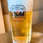 小作 - 生ビール(中)