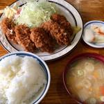 みすず - 「カキフライ定食」ランチ 900円(コーヒー付き)