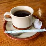 みすず - ランチのコーヒー。食前に出てきました。