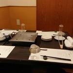 八かく庵 - テーブルセッティング