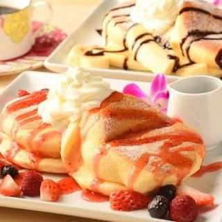 ★ハワイが好きな店主が手掛ける『焼きたてパンケーキ』