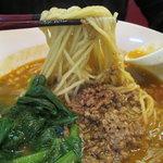 彩雲瑞 - 担々麺のアップ