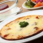 ピッツァ・チーズ料理の店 美砂家 - 紀州梅とチーズの意外なコラボ! ヘルシーな「紀州梅ピッツァランチ」