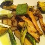 9984966 - 野菜のグリル(アボカド・アスパラ・エリンギ・蓮根)