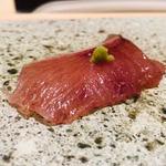 鮨よしかわ - ブリ+山葵