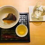 鮨よしかわ - 銀鱈ごはん×あらスープ