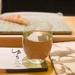鮨よしかわ - 福島 ゆり 純米吟醸 グラス(750円)