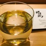 鮨よしかわ - 千葉 福祝 特別純米酒 グラス(750円)