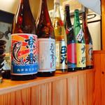 うどんや ぼの - 日本酒色々