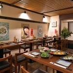博多かわ屋 - 2階席は貸切でのご利用も可。最大32名様までご利用出来ます。