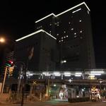 ホテル阪神 - 夜の外観