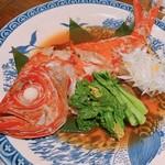 和食 しょっぽり - 金目鯛煮付け  3500円