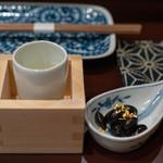 鳥田中 - 2019.1 日本酒と黒豆