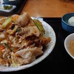 99847719 - 肉丼 盛りヨシ!