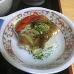 北遥館 - 味噌豆腐