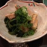 食酒惣 - あん肝ポン酢