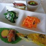 cafe kelp - 料理写真:ステキな前菜