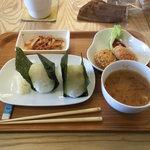 Cafe Musu.B - おむすびランチ630円❤