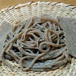 いまふく - ④熟成挽きぐるみ粗手挽(広島神石高原天空蕎麦)