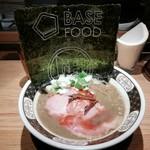 すごい煮干ラーメン凪 - BASE RAMEN 980円