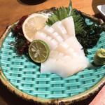 活魚水産 - モンゴイカ刺し