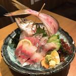 活魚水産 - 平アジ刺し
