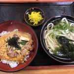 99851505 - 親子丼セット(620円)
