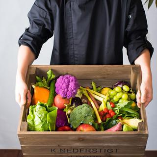 コンセプトは『FarmtoTable』『EatLocal』