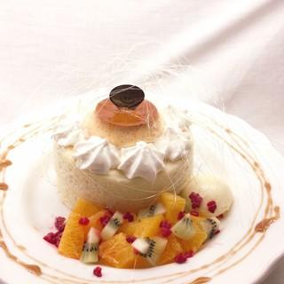 【期間限定】1月10日(木)~『プリンパンケーキ』