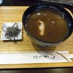 宝来屋 - 料理写真:おしるこ 420円+税