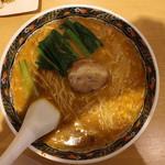 寿限無 担々麺 - 坦々麺(880円、真上から)