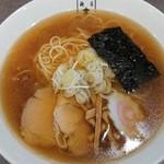 麺匠 玄龍 - 料理写真:のとぐろ醤油ラーメン¥880