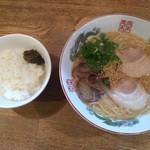 博多 - 高菜ごはんセット・600円(税込) 安い♪
